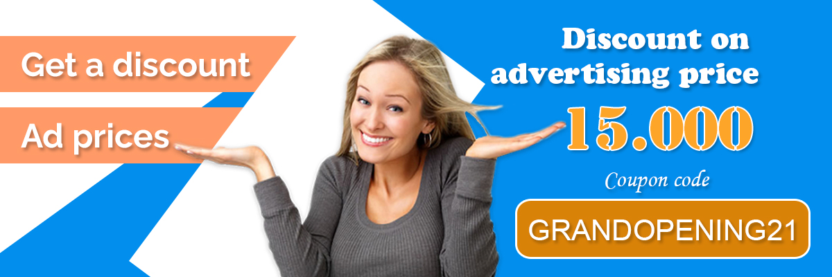 Get's 15,000 discounted advertising price