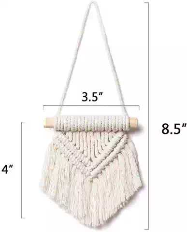 Pre order wall or car decoration (Macrame)