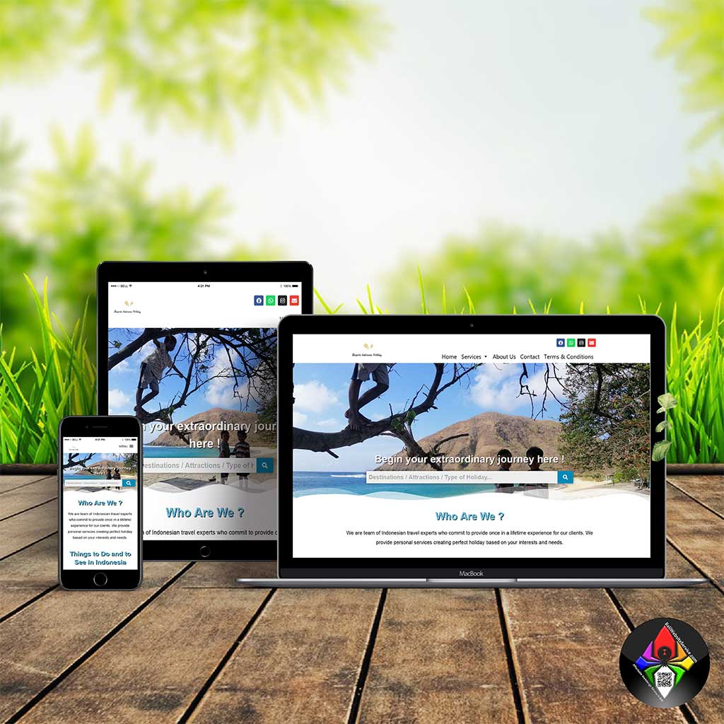 Affordable and professional website design service in Bali