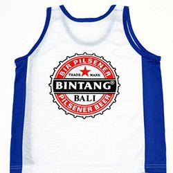 Bali Bintang singlets for children and adults
