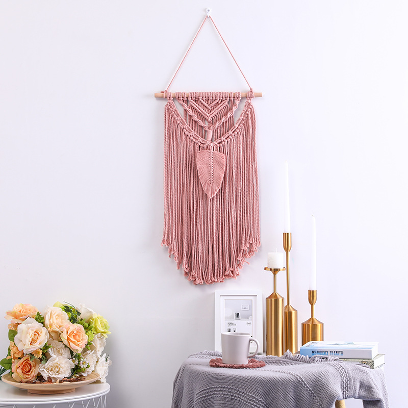 Macrame room decoration wall hanging
