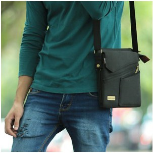 Elegant High Quality Mens Sling Bag is in demand